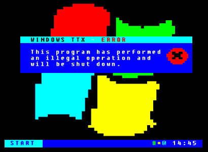 Windows Teletext