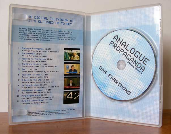 Analogue Propaganda - the DVD