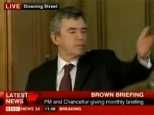 Kung Fu Gordon Brown