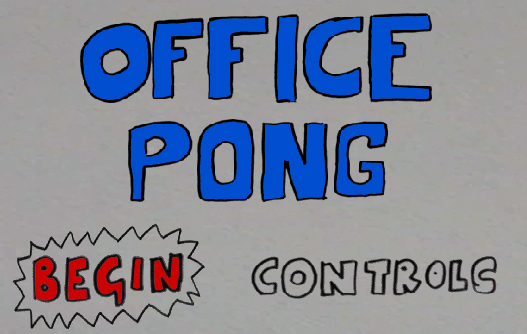 Office Pong