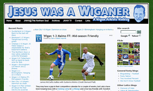 Jesus Was A Wiganer – football blog