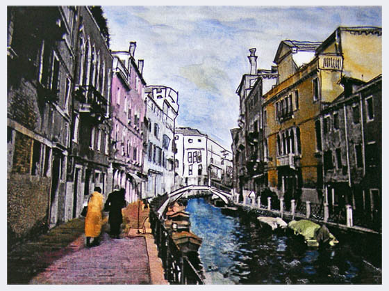 Sketchbook art: Venice & Verona, 2005