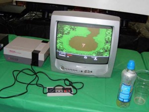 Metal Gear NES Play Expo