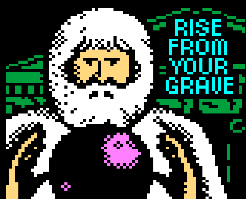 Rise From Your Grave teletext