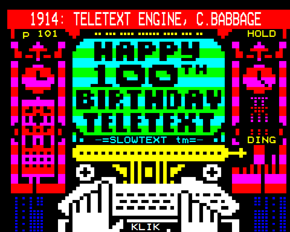 Teletext Engine // Dan Farrimond
